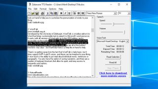 the best free ebook reader with text to speech