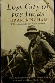hiram bingham book machu picchu ebook