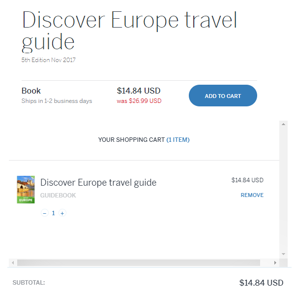 lonely planet ebook discount code