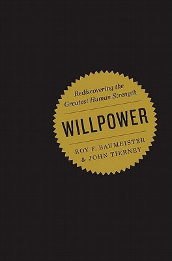 willpower rediscovering the greatest human strength ebook